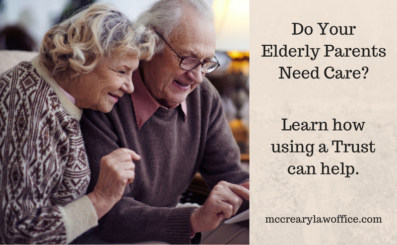 Learn how using a Trust can help you take care of your elderly parents in Florida.