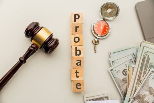 Probate showing time, expense, and court involvement