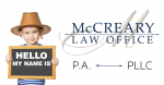 Hello my name is McCreary Law Office